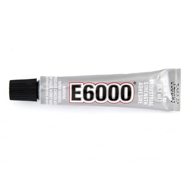 E6000 Clear Industrial Strength General Purpose Adhesive - 5.32ml