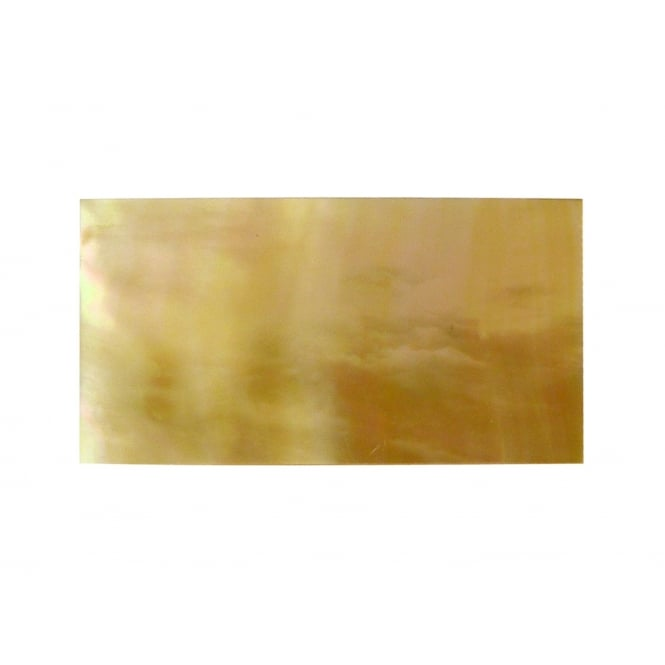 Incudo Gold Mother of Pearl Inlay Blank - 42x22x1.3mm (1.7x0.87x0.05