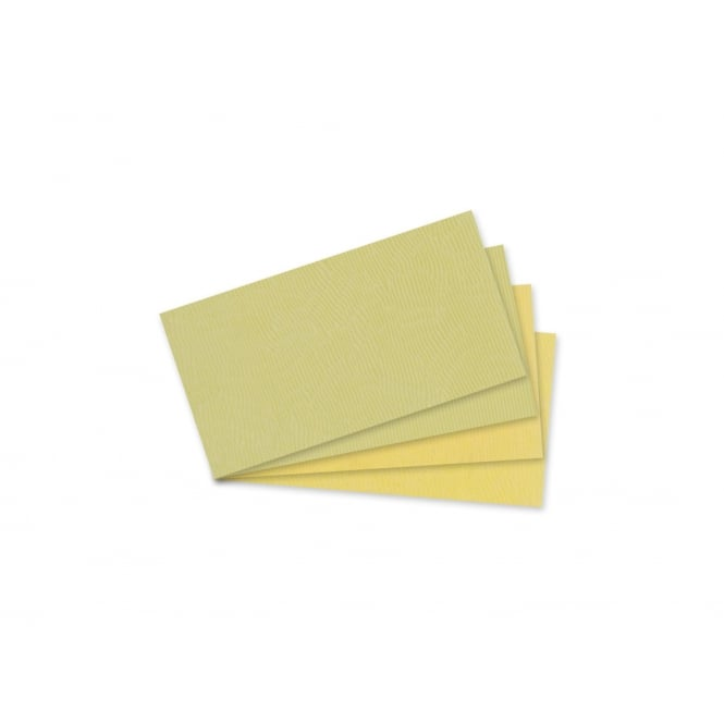 Incudo Ivory Celluloid Sheet Sample Pack - 95x45mm (3.7x1.77