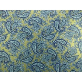 Blue Paisley Paper Decal Sheet