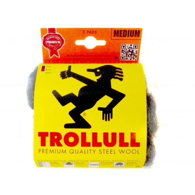 Trollull Steel Wool DIY Pack - Pack of 3